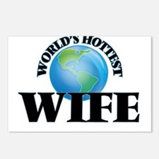 World's Hottest Wife Postcards (Package of 8)