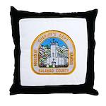 Kalawao County Sheriff Throw Pillow