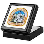 Kalawao County Sheriff Keepsake Box