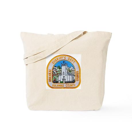 Kalawao County Sheriff Tote Bag