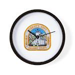 Kalawao County Sheriff Wall Clock