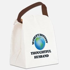 World's Hottest Thoughtful Husban Canvas Lunch Bag