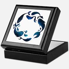 Aquatic Galaxy Keepsake Box