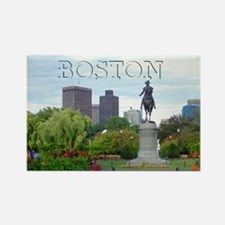 Cute Boston souvenir Rectangle Magnet