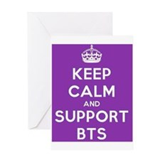 Support BTS Greeting Card