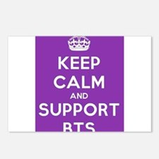 Support BTS Postcards (Package of 8)
