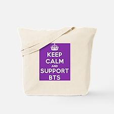 Support BTS Tote Bag