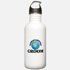 World's Hottest Groom Water Bottle