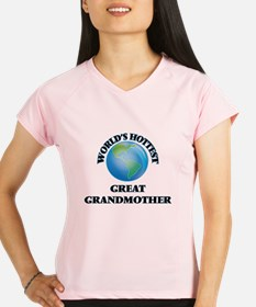 World's Hottest Great Gran Performance Dry T-Shirt