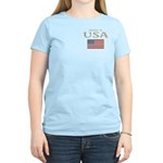 Property of USA Flag July 4th Women's Light T-Shir