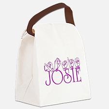 Josie Canvas Lunch Bag