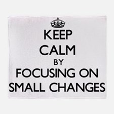 Keep Calm by focusing on Small Chang Throw Blanket