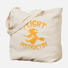 Halloween witch FLIGHT INSTRUCTOR Tote Bag