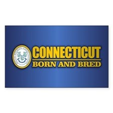 Connecticut (born and bred) Decal