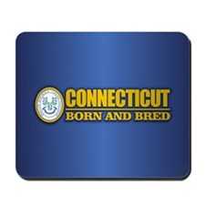 Connecticut (born and bred) Mousepad