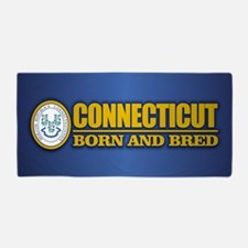 Connecticut (born and bred) Beach Towel