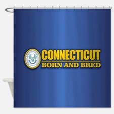 Connecticut (born and bred) Shower Curtain