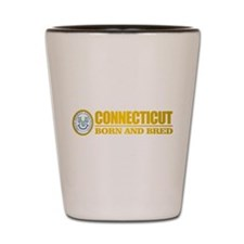 Connecticut (born and bred) Shot Glass