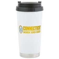 Connecticut (born and bred) Travel Mug
