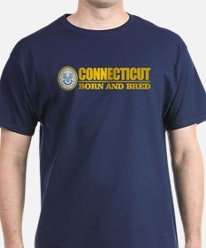Connecticut (born and bred) T-Shirt
