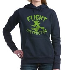 Flight instructor wickedy witch on a broomstick Wo
