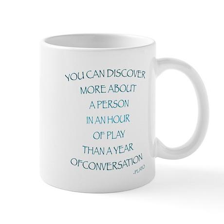 Discover through Play Mug