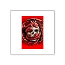 skull dragon Sticker