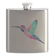 Raspberry Mint Sorbet Hummingbird Flask
