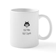 Half Man Half Coyote Mugs