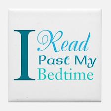 Rebel Reader Tile Coaster
