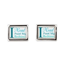 Rebel Reader Rectangular Cufflinks