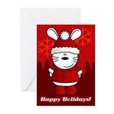 Cute Bunny lover Greeting Cards (Pk of 20)