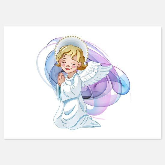 Praying Angel- Invitations