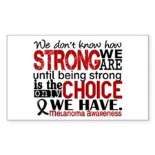 Melanoma HowStrongWeAre Decal