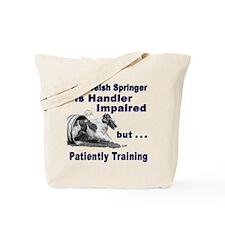 Welsh Springer Spaniel Agilit Tote Bag