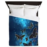 Butterfly night Luxe Full/Queen Duvet Cover