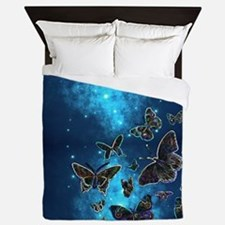 Cute Butterflies Queen Duvet