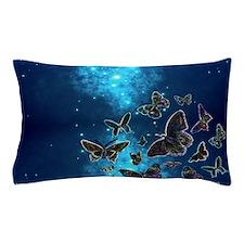 Unique Butterfly blue Pillow Case