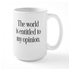 My Opinion Mugs