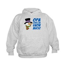 Opa Loves Me Snow Much Hoodie