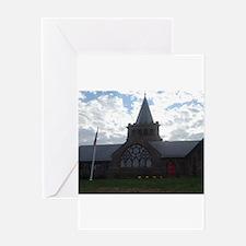 Church reaches Skyline Greeting Cards
