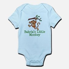 Babcia's Little Monkey Body Suit