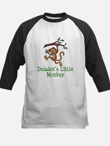 Dziadek's Little Monkey Baseball Jersey