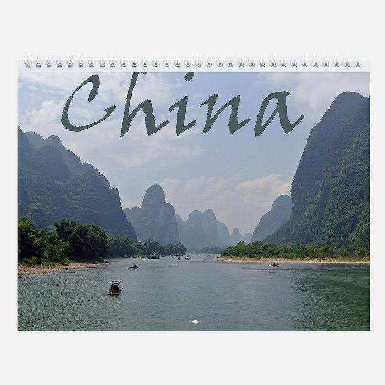 China 1 Wall Calendar