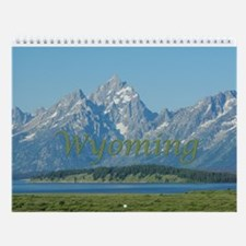 Wyoming Wall Calendar