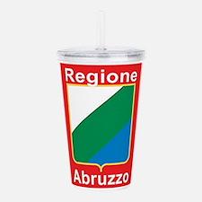 Regione Abruzzo Acrylic Double-Wall Tumbler