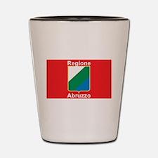 Regione Abruzzo Shot Glass