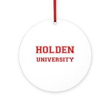 HOLDEN UNIVERSITY Ornament (Round)