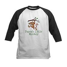 Papou's Little Monkey Baseball Jersey