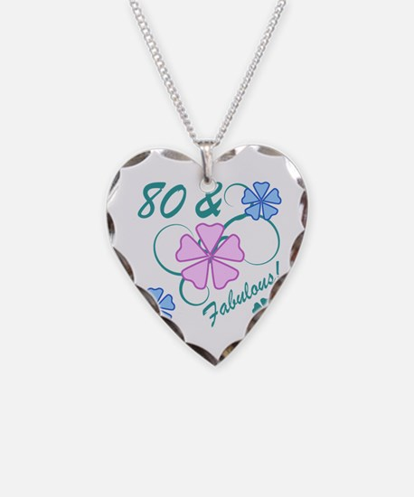 Fabulous 80th Birthday Necklace